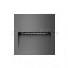 Светильник LTD-TRAIL-S115x115-4W Warm3000 (GR, 70 deg, 230V)