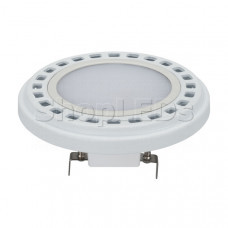 Лампа AR111-UNIT-G53-12W- Warm3000 (WH, 120 deg, 12V)