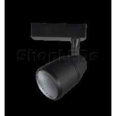 Трековый светодиодный светильник «антиблик» Track-124-NET (220V, 20W, 6000K, черный корпус)