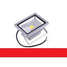 Светодиодный прожектор 20W IP65 220V Red